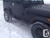 Make Jeep Year 1989 Colour Black Trans Automatic kms