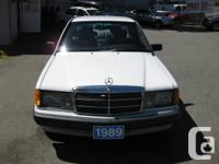1989 MERCEDES-BENZ 190E  Listed At: