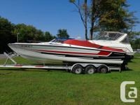'89 Formula 272 SR-1. Watercraft is tidy and well
