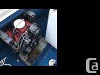 4.3 Vortex motor that runs great, new starter, 2x life