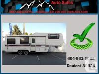 1989 TERRY by FLEETWOOD 27' FIFTH WHEEL comes with all