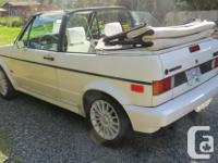 Make Volkswagen Model Cabriolet Year 1989 Colour White