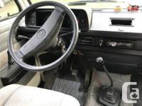 1989 VW Westfalia Vanagon campervan in great shape.