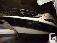 This 2007 Cruisers Yachts 447 is a euro sedan produced