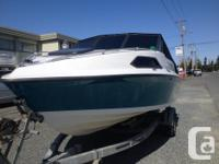 1990 19' DYNYSTY CUDDY CABIN FOR SALE GREAT FAMILY BOAT