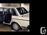 Make Volvo Model 240 Year 1990 Colour White kms 311000