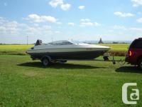 1990 20 ft. Bayliner Capri Bowrider (open bow), 150 hp