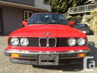 Make BMW Model 325i Year 1990 Colour Red kms 307700