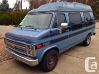 1990 Chev Conversion Van with 185000kms (115000miles)