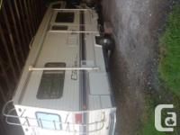 27 ft Ford 460 engine. Low mileage, new tires, awning,