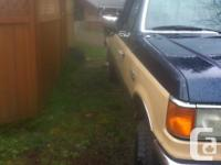Make Ford Model F-250 Series Year 1990 Colour tan kms