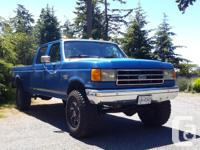 Make Ford Model F-350 Year 1990 Colour Blue kms 242000