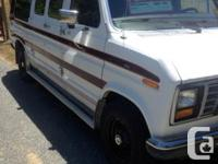 for sale 1990 Ford Econoline Touring Van Great shape