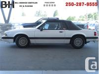 Make Ford Model Mustang Year 1990 Colour White kms