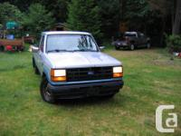 Make Ford Model Ranger Year 1990 Colour silver/blue