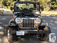 Make Jeep Model YJ Year 1990 Colour Black kms 153400