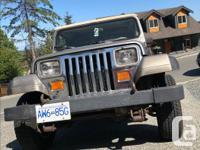 Make Jeep Year 1990 Colour Safari Trans Manual kms
