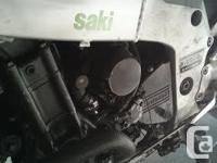 750cc inline 4cyl, 80,000km on odometer, recent oil