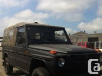 1990-Mercedes Benz/Puch Military gelandewagen, LWB
