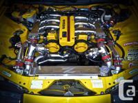 - VG30DETT Twin Turbocharged Engine - 5 speed manual
