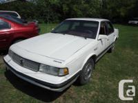 Make Oldsmobile Model Cutlass Year 1990 Colour white
