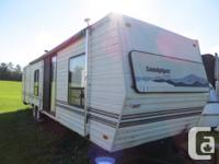 This is Park RV trailer. It's very clean and nice. Has