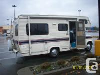 1991 23 FT. TRAVELAIRE MOTOR HOME FOR SALE ON A F350