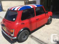 Make Mini Year 1991 Colour Red Trans Manual kms 58461