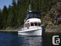 1991 GB36 Trawler Tri-cabin. Twin Cummins 5.9 lt 420HP