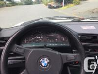 Make BMW Year 1991 Colour White Trans Manual kms