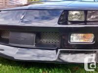Make Chevrolet Model Camaro Year 1991 Colour Black kms