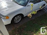 Make Honda Model Civic Year 1991 Colour white kms