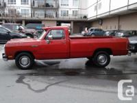 Make Dodge Year 1991 Colour red Trans Automatic kms
