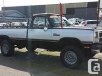 1991 Dodge Ram 250 Cummins Turbo Diesel- 4x4,