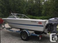 1991 Double Eagle 16.5 ft, with 1999 90HP outboard with