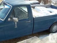 Make Ford Model F-150 Year 1991 Colour blue kms 214000