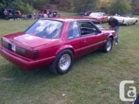 1991 mustang, street legal drag car, professionally