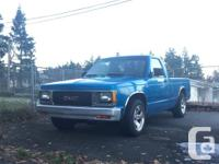 Make GMC Year 1991 Colour Blue Trans Manual kms 368695