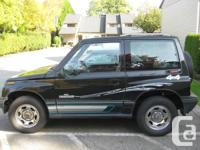 1991 GMC Tracker 4X4 Tin Top New Brakes Nice and clean