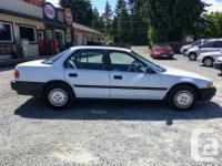 Make Honda Model Accord Year 1991 Colour White kms