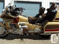 Make Honda Year 1991 kms 93583 this Goldwing is extra