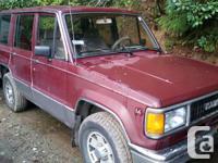 Make Isuzu Version Cannon fodder Year 1991 Colour Red