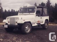 Make Jeep Year 1991 Colour White Trans Automatic kms