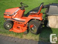 Very economical 18HP diesel - I moved our 1+ acre lawn