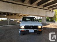 Make Nissan Model Hardbody Year 1991 Colour White kms