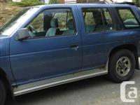 Make Nissan Model Pathfinder Year 1991 Colour Blue