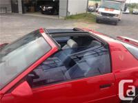 Make Pontiac Model Firebird Year 1991 Colour red kms