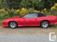 Make Chevrolet Year 1991 Colour Red Trans Automatic