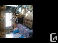 Nice RV with one bedroom ,fits double bed.all in