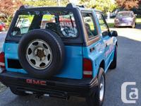 Make GMC Year 1991 Colour blue Trans Manual Call Lorne